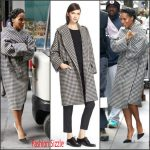 Kerry Washington   In  Max Mara –  Times Center in New York