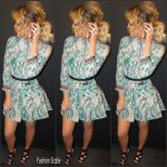 Khloe Kardashian in snakeskin outfit -Instagram