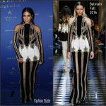 Kim Kardashian in Balmain – Hakkasan Las Vegas 3rd Anniversary Celebration