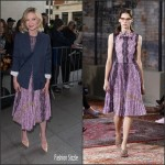 Kirsten Dunst in Gucci at BBC Radio 1 Studios