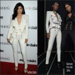 Kylie Jenner In Balmain – Marie Claire 'Fresh Faces' Party