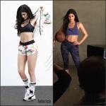 Kylie Jenner sneak peak in Puma's Ad Campaign