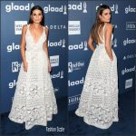 Lea Michele  In Elie Saab – 2016 GLAAD Media Awards