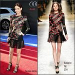 Lydia Hearst  In Blumarine –   'Captain America' Civil War LA Premiere
