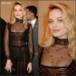 Margot Robbie in Alexander McQueen  – 2016 MTV Movie Awards