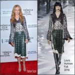 Nicole Kidman in Louis Vuitton at 'The Family Fang' 2016 Tribeca Film Festival Premiere