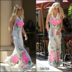 Rita Ora  In Vintage jumpsuit  – Out in Beverly Hills