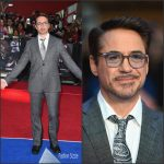 Robert Downey Jr. In Etro  at  Captain America: Civil War London Premiere