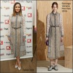 Rose Byrne in Bottega Veneta at The Meddler New York Screening