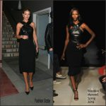 Rosie Huntington-Whiteley in Brandon Maxwell-   Dinner Out In Hollywood