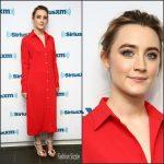 Saoirse Ronan  In  Atea Oceanie – SiriusXM Appearance