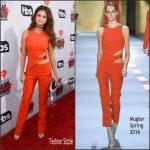 Selena Gomez in Mugler – 2016 iHeart Radio Music Awards