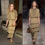 Suki Waterhouse in Sonia Rykiel at the Magnum Double Launch Party
