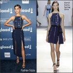 Zendaya  Coleman In David Koma – 2016 GLAAD Media Awards