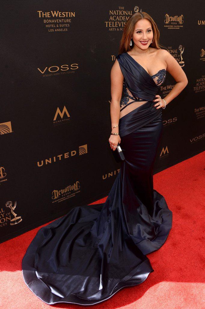 Adrienne-Bailon-2016-Daytime-Emmy-Awards-Red-carpet