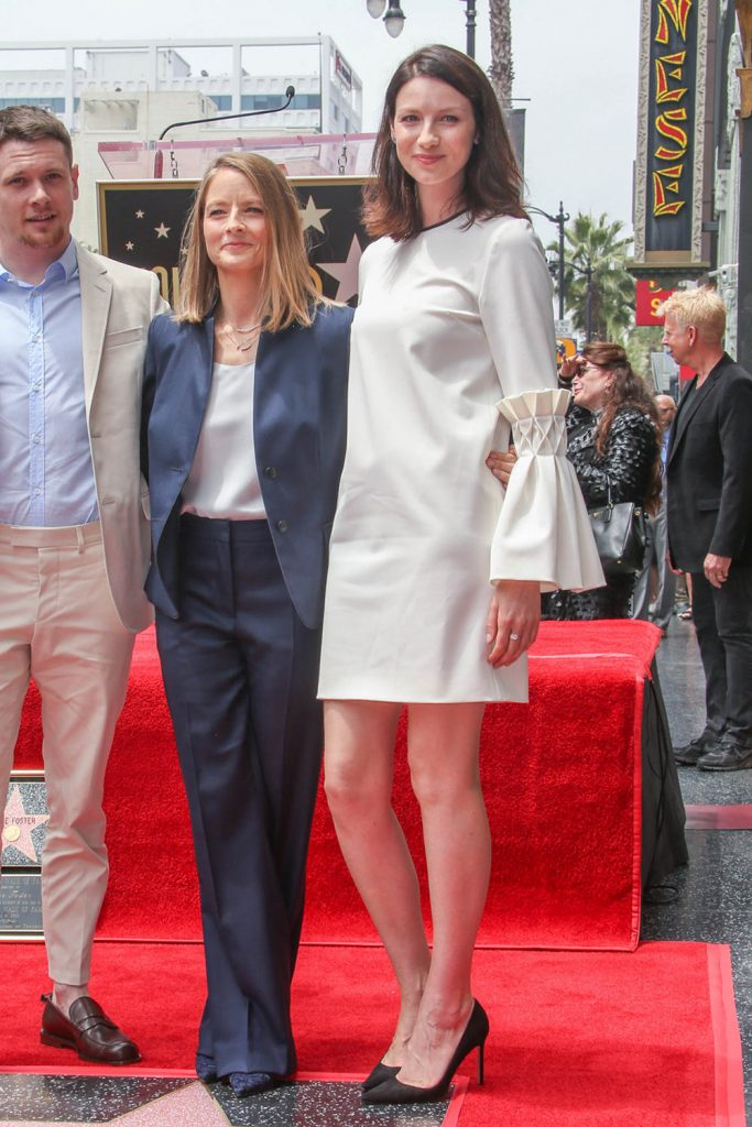 Caitriona-Balfe-Holywood-Walk-Fame-Ceremony-Jodie-Foster-Mother-of-Pearl-Fashion-Tom-Lorenzo-Site-1