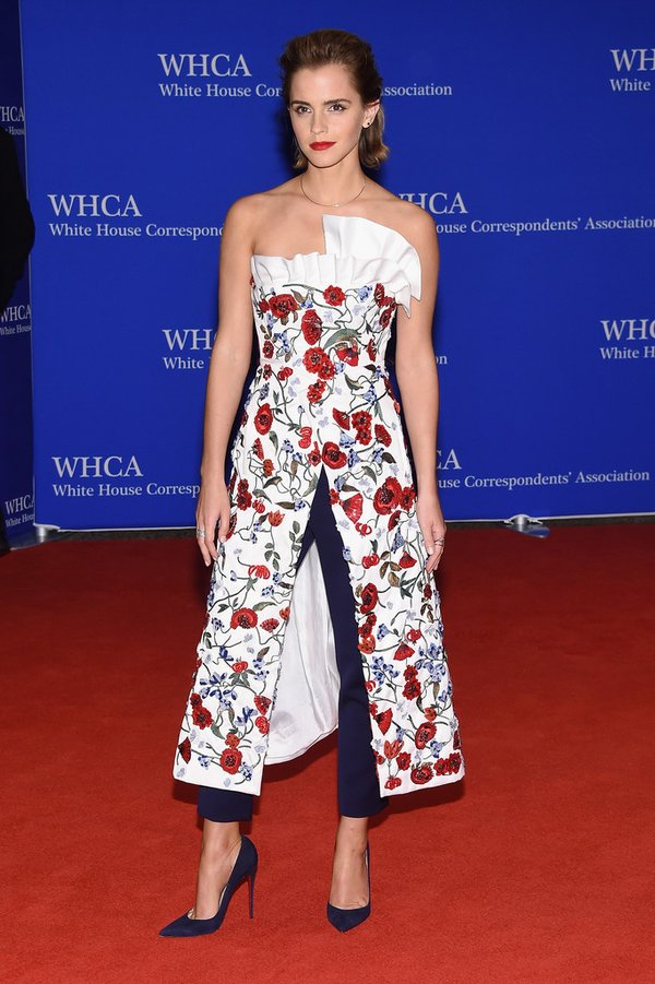 Emma- Watson-white-house-correspondents-dinner-2016-redcarpet