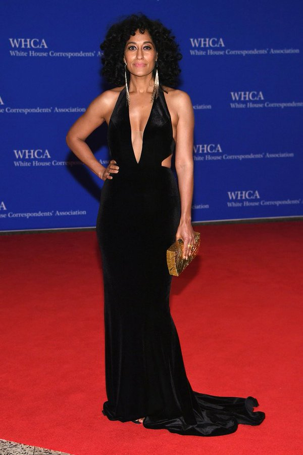 Tracee -Ellis- Ross-white-house-correspondents-dinner-2016-redcarpet
