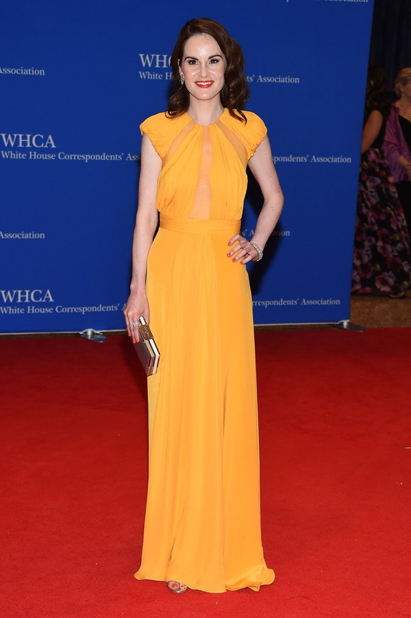 Michelle -Dockery-white-house-correspondents-dinner-2016-redcarpet