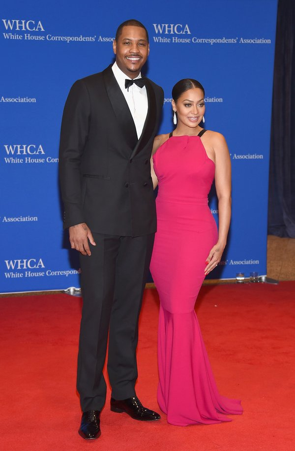 lala-carmello-anthony-white-house-correspondents-dinner-2016-redcarpet