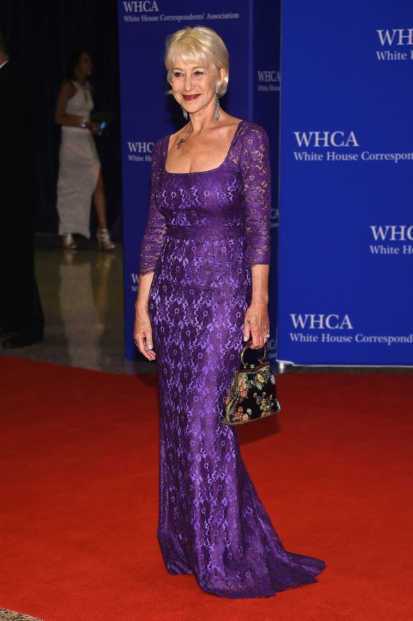 Helen -Mirren-white-house-correspondents-dinner-2016-redcarpet