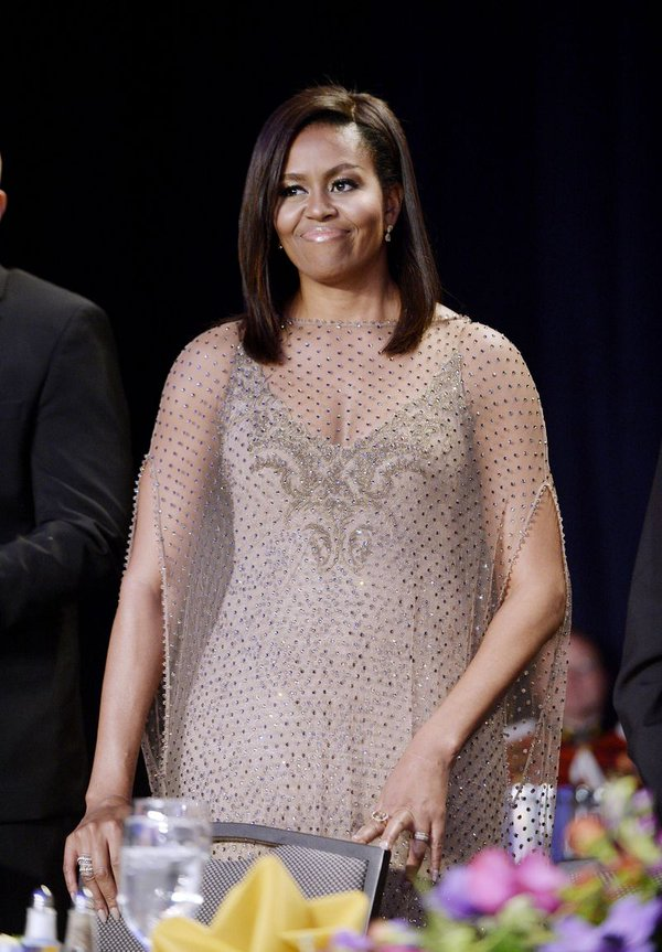 first-lady-michelle-Obama-in-givenchy-white-house-correspondent-dinner-2016