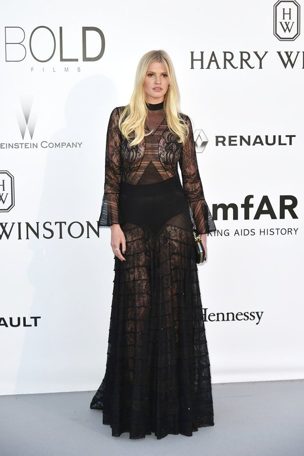 Lara -Stone -amfar-cinema-against-aids-gala-cannes-2016