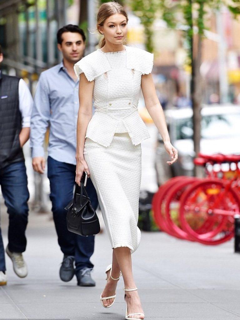 Gigi-Hadids-New-York-City-Roland-Mouret-Penfold-Lattice-Weave-Vest-and-Matching-Arreton-Lattice-Weave-and-Crepe-Pencil-Skirt-900×1200-768×1024