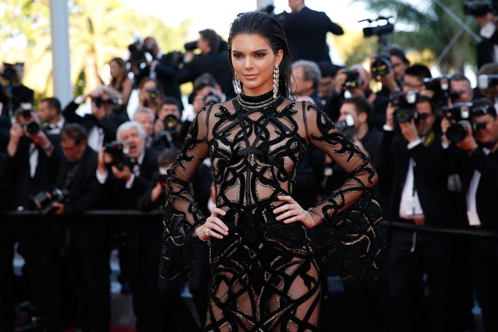 Kendall-Jenner-Cannes-Film-Festival-Roberto-Cavalli-Sheer-Jeweled-Embellished-Gown-1