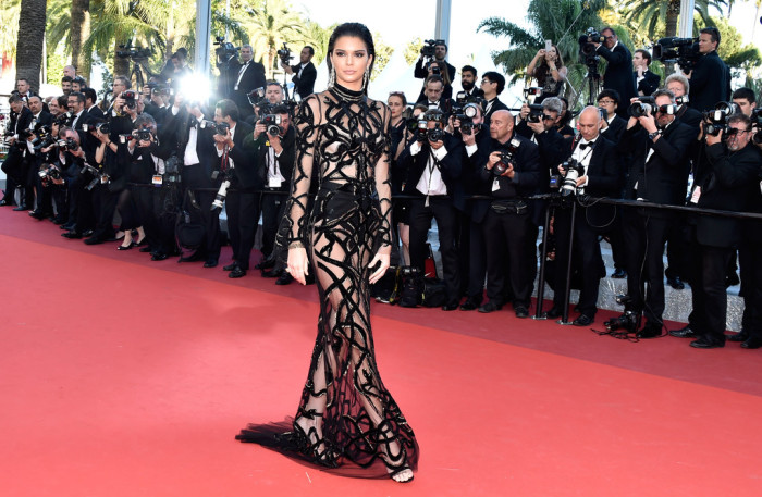 Kendall-Jenner-Cannes-Film-Festival-Roberto-Cavalli-Sheer-Jeweled-Embellished-Gown-5-700x457