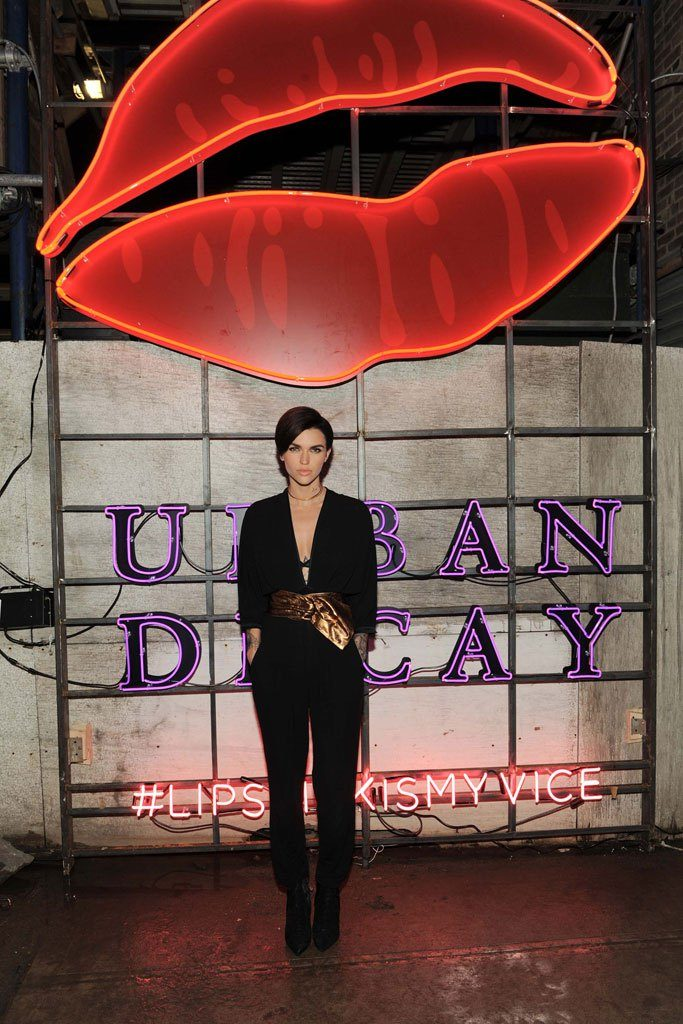 Ruby- Rose- and -Urban- Decay -Celebrate -The- Launch- of- Vice -Lipsticks