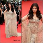 Aishwarya Rai in Ali Younes Couture at Ma Loute(Slack Bay) 69th Cannes Film Festival Screening