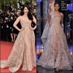 Aishwarya Rai in Elie Saab Couture at The BFG 69th Cannes Film Festival Screening
