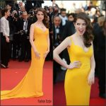 Anna Kendrick In Stella McCartney –   At 'cafe Society' Premiere And 69th Cannes Film Festival Opening