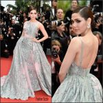 Araya A. Hargate In Zuhair Murad – The BFG  Premiere  at 69th Cannes Film Festival