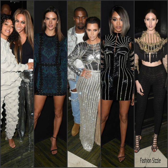 Celebs were in attendance  at the Balmain  and Oliver Rousteing after party for  2016 Met Gala on Monday night (May 2) in New York City.