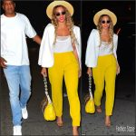 Beyonce and Jay Z spotted Out In New York