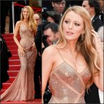 Blake Lively  In Atelier Versace  –  'Cafe Society' Premiere and 69th Cannes Film Festival Opening