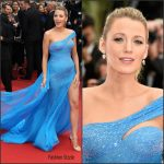 Blake Lively  In  Atelier Versace –  The BFG  Premiere at 69th Cannes Film Festival