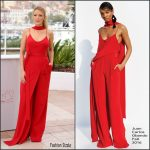 Blake Lively in Juan Carlos Obando at  Cafe Society Photocall – 2016 Cannes Film Festival
