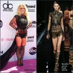 Britney Spears in Reem Acra at the 2016 Billboard Awards
