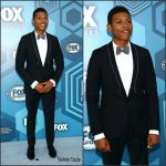 Bryshere Y. Gray  In Lanvin – Fox Upfronts 2016