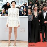 Caitriona Balfe in Louis Vuitton at  Money Monster 69th Cannes Film Festival Photocall & Premiere