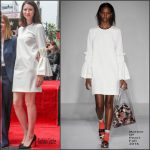 Caitriona Balfe in Mother Of Pearl – Jodie Foster's Hollywood Walk of Fame Star Ceremony
