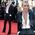 Charlize Theron In  Christian Dior  Couture   at The Last Face 69th Cannes Film Festival Premiere