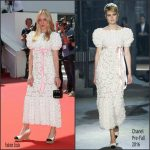 Chloe Sevigny In  Chanel at Paterson 69th Cannes Film Festival Screening