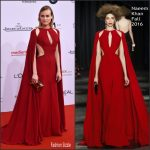 Diane Kruger In Naeem Khan – 2016 German Film Awards