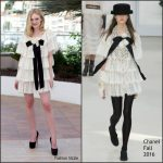 Elle Fanning  In Chanel at The Neon Demon   69th Cannes Film Festival Photocall