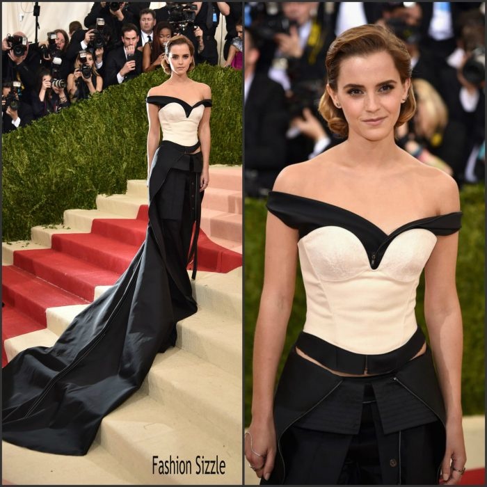 Emma Watson  attended the Metropolitan Museum of Art, Costume Institute. New York City, New York on May 2, 2016.