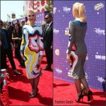 Gwen Stefani in Olympia Le-Tan at the 2016 Radio Disney Music Awards